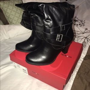 Style & Co Shoes - Style & Co Ruddy Black Boots